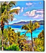 Marina Cay Acrylic Print