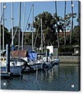 Marina Del Rey California 2 Acrylic Print