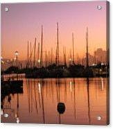 Marina Twilight Acrylic Print