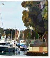 Marina Views Acrylic Print