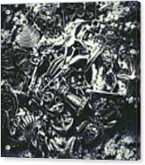 Marine Elemental Abstraction Acrylic Print