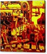 Marine Engine Acrylic Print