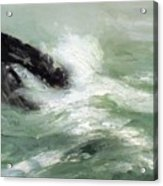 Marine Storm Sea 1911 Acrylic Print