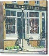 Marine Supply Store Acrylic Print