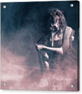 Marinette - Mysterious Woman In Venetian Mask Acrylic Print