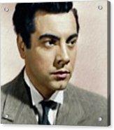 Mario Lanza, Tenor/actor Acrylic Print
