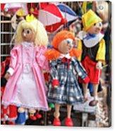 Marionettes 1940 Acrylic Print
