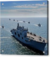 Maritime Forces From 17 Nations Acrylic Print