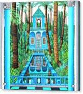 Marjorelle Reflections Acrylic Print
