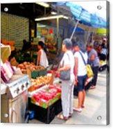 Market At Bensonhurst Brooklyn Ny 1 Acrylic Print