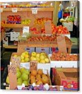Market At Bensonhurst Brooklyn Ny 11 Acrylic Print
