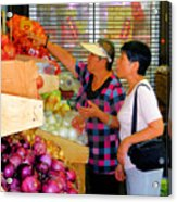 Market At Bensonhurst Brooklyn Ny 2 Acrylic Print