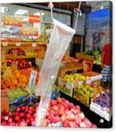 Market At Bensonhurst Brooklyn Ny 3 Acrylic Print
