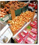 Market At Bensonhurst Brooklyn Ny 4 Acrylic Print