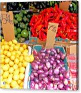 Market At Bensonhurst Brooklyn Ny 6 Acrylic Print