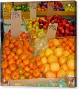 Market At Bensonhurst Brooklyn Ny 7 Acrylic Print