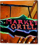 Market Grill Acrylic Print