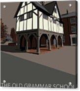 Market Harborough Grammar School Acrylic Print
