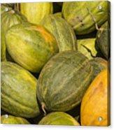 Market Melons Acrylic Print