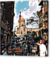 Market Acrylic Print