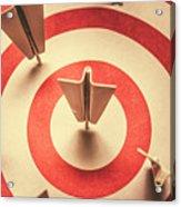 Marketing Your Target Market Acrylic Print