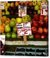 Marketplace Fruit Acrylic Print