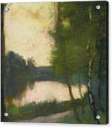 Markischer See Am Abend Acrylic Print
