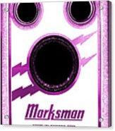 Marksman By Bernard Marks Acrylic Print