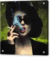 Marla Singer Acrylic Print