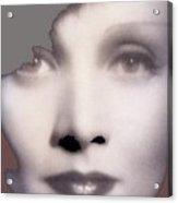 Marlene Dietrich Scarlet Empress Closeup 1934-2015 Acrylic Print