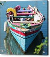 Marley Rowboat Rodney Bay Saint Lucia Acrylic Print
