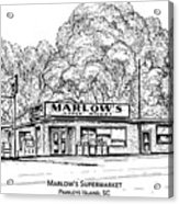 Marlows Market Acrylic Print