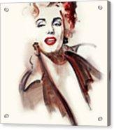 Marilyn Manroe Acrylic Print