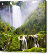 Marmore Waterfalls Italy Acrylic Print