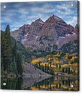 Maroon Bells Colorado Dsc06628 Acrylic Print