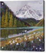 Maroon Lake Acrylic Print