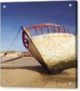 Marooned Boat Acrylic Print