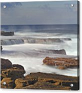 Maroubra Seascape 01 Acrylic Print by Barry Culling