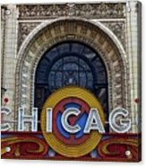 Marquee Close Up Acrylic Print