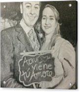 Marriage Portrait Acrylic Print