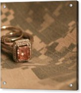 Married To The Army Acrylic Print