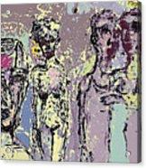 Marrige Acrylic Print