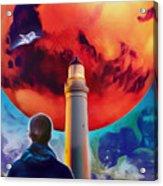 Mars Dreamer Acrylic Print