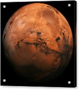 Mars The Red Planet Acrylic Print