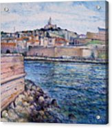 Marseille Pierre Plats Provence France Cm 2004  Acrylic Print