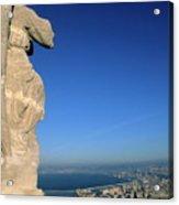 Marseille Seen From The Basilica Of Notre Dame De La Garde Acrylic Print