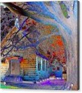 Marsh Berea Mb Church In Color Acrylic Print
