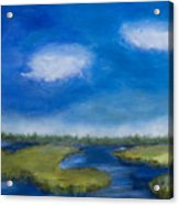 Marsh In The Low Country Acrylic Print