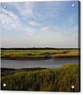 Marsh Scene Charleston Sc Acrylic Print