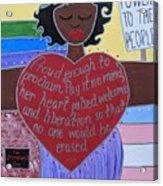 Marsha P Johnson Acrylic Print